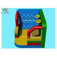 Colorful Inflatable Outdoor Sports Games Football Dart Climbing Wall Basket Shooting Movie Screen Manufactures