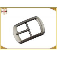 Single Pin Metal Center Bar Replacement Belt Buckles Zinc Alloy Material Manufactures