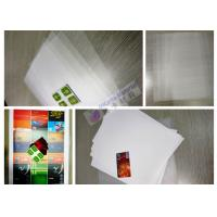 China PETG Coated Overlay Clear Plastic PET/PETG Sheet For credit card on sale