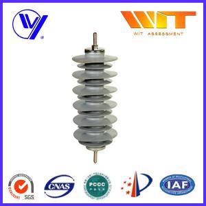 Silicon Rubber Zinc Oxide Lightning Arrester 33KV Surge Diverter for Transformer Protection Manufactures