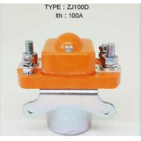 Buy cheap Forklift contactor ZJ100D  ITH 100A / forklift electric parts from wholesalers