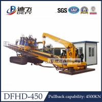 450Ton Capacity City Construction DFHD-450 Horizontal Directional Drilling HDD Rig Machine Manufactures
