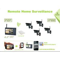 Plug And Play Office Wireless Hd Security Camera Systems Full HD DVR Manufactures