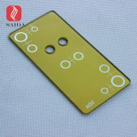 China Smart home touch screen control tempered switch cover glass panel 86*86mm in 3mm thickness on sale
