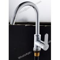 Quality square single lever kitchen sink faucet sink water filter system square kitchen faucet brass square sink mixer  tap for sale