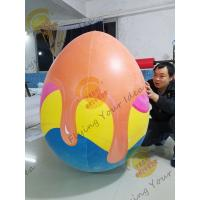 Weather - Resistant Giant Product Replicas Inflatable Egg For Amusement Park Manufactures