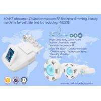 China 40khz Ultrasonic Weight Loss Machine Face Lift For Celulite And Fat Reducing on sale