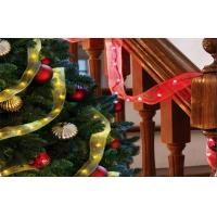 Wedding Decoration Micro Led Yellow String Lights Battery Operated Led Ribbon Fairy Lights