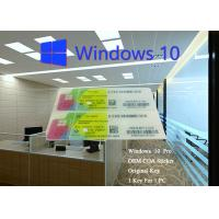 Windows 10 Pro Product Key Enterprise Key, 64bit Online Activation Manufactures