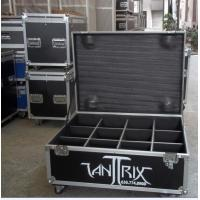 Aluminium Flight Case With Compartments For Performance Equipment Manufactures