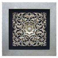 China Creative Wall Hanging, Made of Wood Carving, Suitable for Interior Decoration on sale