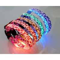 On Sell Robust Nylon Flashing LED Collar Manufactures