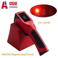 Red  Plastic  ZA-200H Body Metal Detectors  For Hand Held Dangerous Chemical Liquid Manufactures