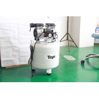 China 40L 1.1HP Silent Oilless Air Compressor For 2 Dental Chair Units Energy Saving CE Approval on sale