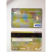 Black hico magstripe visa smart gold card of hbl bank card ISO standard Manufactures