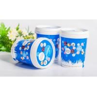 BPA free  durable Disposable Plastic Food Containers for ice cream Manufactures