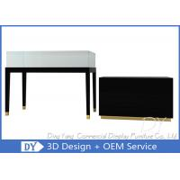 Attractive Black Jewellery Shop Counter  / Jewelry Display Counter Manufactures