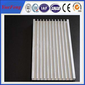 OEM aluminium fin heatsink manufacturer, 21 lines extruded profile aluminum heat sink Manufactures