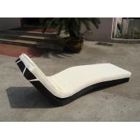 Hotel Park Strong Brown Sunlounger With Power Coated Aluminum Frame Manufactures