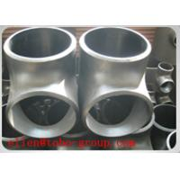 TOBO STEEL Group TEE ASME B16.9 BEVELED END SCH 10S SS SUPER DUPLEX ASTM A815 GRADE UNS S32750/ UNS S32760 Manufactures