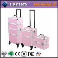 LT-MCT0064 China online shopping new aluminum bag trolley makeup case Manufactures