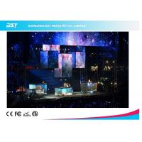 Transparent Soft Flexible LED Display Screen For Commercial Advertising SMD2121 Manufactures