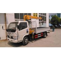 China dongfeng small 2.5ton truck mounted crane on sale