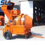 750L Twin Shaft Concrete Cement Mixer , Horizontal Industrial Concrete Mixer Manufactures