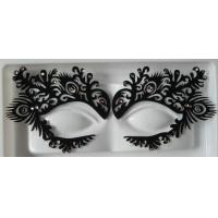 Personalized Party / Festival Using Eye Tattoo Sticker Black , Red Manufactures