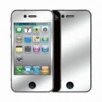 High PET Dust-proof Mirror Effect Screen Protector for BlackBerry 9800 Manufactures