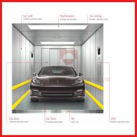 Large Space / Load High Speed Elevator Compact Simple Operation For Automobile Manufactures