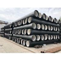 Quality T Type Ductile Iron Pipe Mortar Cement Lining BSEN545 ISO2531 K789 C253040 for sale