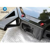 Matte Black Mountain Bike Frame , Steel Mtb Frame Suspension Design