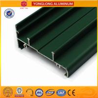 Glossy And Matt Powder Coated Aluminium Extrusions Good Film Performance Manufactures