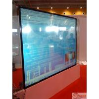 65 Inch LCD Large Multi Touch Screen Monitors Multilingual With Rear Fixed Manufactures