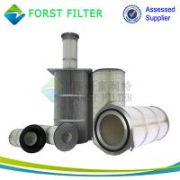 China FORST Polyester Paper Hepa Air Filter Pleated Cartridge Supplier wholesale