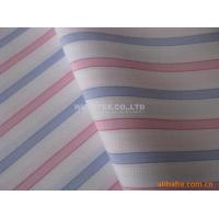 Stable quality Mini Dobby Cotton Yarn Dyed Fabric, Plain Weave Stripe For Fashion Clothes Manufactures