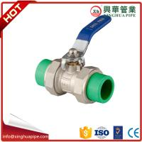 Water Control Brass Ball Valve Ppr Double Union Ball Cock Flange Connection Manufactures