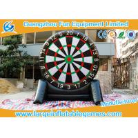 4MH Single Side Inflatable Score Board Inflatable Football Game For Human Manufactures