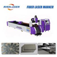 Industrial Fiber Laser Tube Cutting Machine Automatic Loading For Different Tube Shapes Manufactures