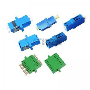 LC PC APC Fiber Optical cable Adapter Simplx Duplex Telecommunication FTTH Connection Manufactures