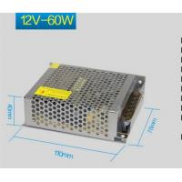 High quality 12v  60w led neon transformer switching power supplies  led driver for sale Manufactures