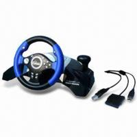 5-in-1 Multifunctional Steering Wheel for PSX3, PSX2, USB, Xbox, and PSX Manufactures
