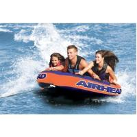 Multi-Valve Water Towable Tube 72 Inch , 3 Person Portable Water Ski