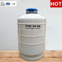 Tianchi Stainless Steel Storage Tank YDS-30-80 Cryogenic Vessel 30L Liquid Nitrogen Container Manufactures