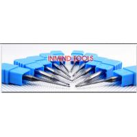 0.6 UM Grain Size End Milling Cutter , Long Neck Square Solid Carbide End Mills Manufactures