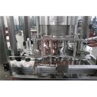 Automatic Filling Capping And Labeling Machine Plastic Bottle Label Applicator Manufactures