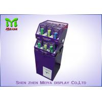 Store Cardboard Recycling Bins , Cardboard Display Bins For Drinks And Market Promotion Manufactures