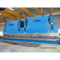 Hydraulic 120 Ton CNC Tandem Pole Press Brake Bending Machine With Steel Plate Frame Manufactures