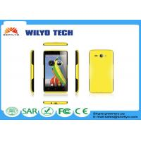 Quality Multi Color 5 Inch Screen Smartphones MT6572 Dual Core GPS Support WCDMA for sale